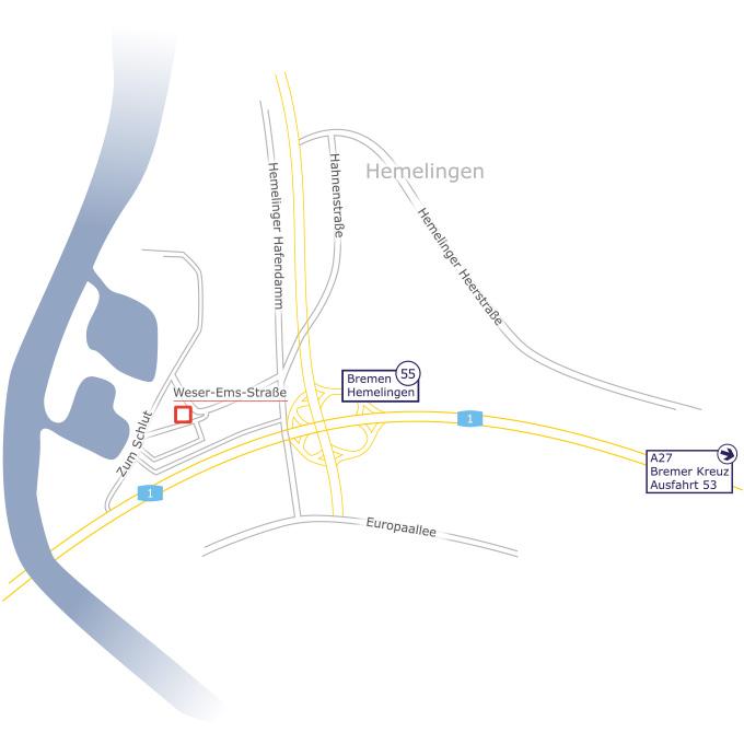 Anfahrt-Bremen